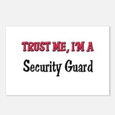 Trust Me I'm a Security Guard Postcards (Package o