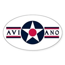 Aviano Air Base Oval Decal