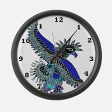 Eagle Dancer Large Wall Clock