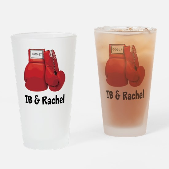 Boxing gloves Drinking Glass
