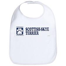SCOTTISH-SKYE TERRIER Bib