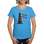 Kiss This Women's Dark T-Shirt