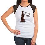 Kiss This Women's Cap Sleeve T-Shirt