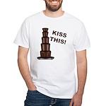 Kiss This White T-Shirt