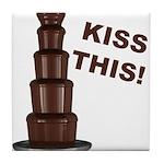 Kiss This Tile Coaster