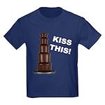 Kiss This Kids Dark T-Shirt