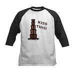 Kiss This Kids Baseball Jersey