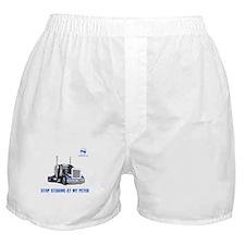 Stop staring at my Peter Boxer Shorts
