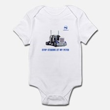 Stop staring at my Peter Infant Bodysuit