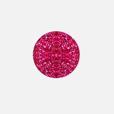 Cute Hot pink Mini Button