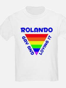 Rolando Gay Pride (#005) T-Shirt