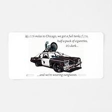 Bluesmobile Aluminum License Plate