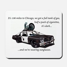 Bluesmobile Mousepad