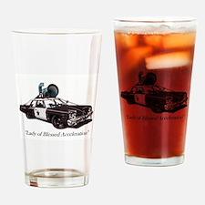 Bluesmobile Drinking Glass