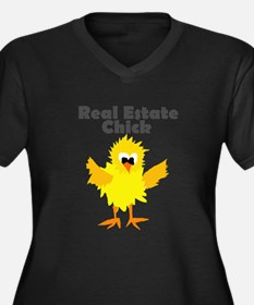 Real Estate Chick Art Plus Size T-Shirt