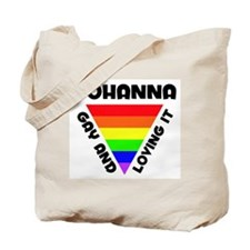 Johanna Gay Pride (#006) Tote Bag