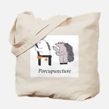 Porcupine Doctor Tote Bag
