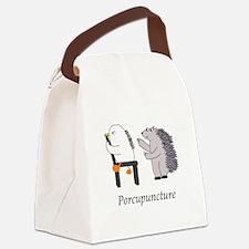 Porcupine Doctor Canvas Lunch Bag