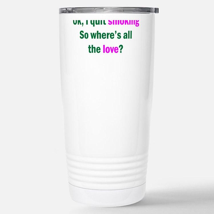 Cute Non smoker Travel Mug