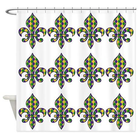 Fleur De Lis M Shower Curtain By Jwsholidaystore