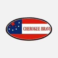 Cherokee Braves Flag, United States Patch