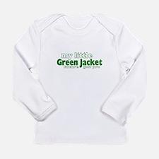 Little Green Jacket Long Sleeve T-Shirt
