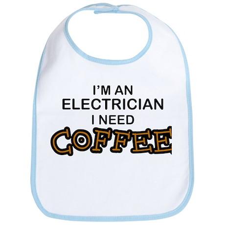 Electrician Need Coffee Bib