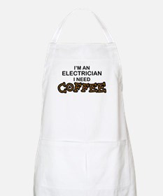 Electrician Need Coffee BBQ Apron