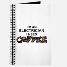 Electrician Need Coffee Journal