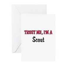 Trust Me I'm a Scout Greeting Cards (Pk of 10)