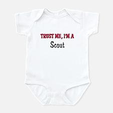 Trust Me I'm a Scout Infant Bodysuit