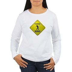Zombie Xing Women's Long Sleeve T-Shirt