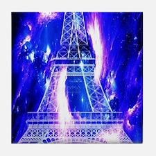 Amethyst Sapphire Paris Dreams Tile Coaster