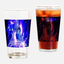 Amethyst Sapphire Paris Dreams Drinking Glass