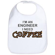 Engineer Need Coffee Bib
