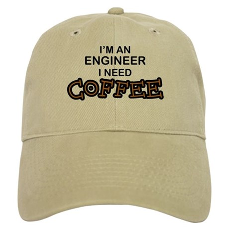 Engineer Need Coffee Cap By Poor Richards
