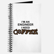 Engineer Need Coffee Journal