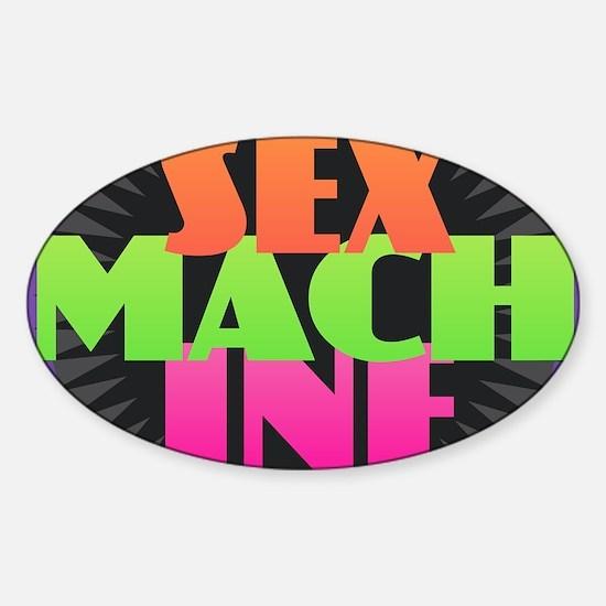 Sex Machine Decal