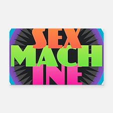 Sex Machine Rectangle Car Magnet