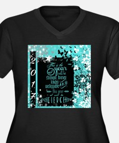 New Years 2017 Plus Size T-Shirt