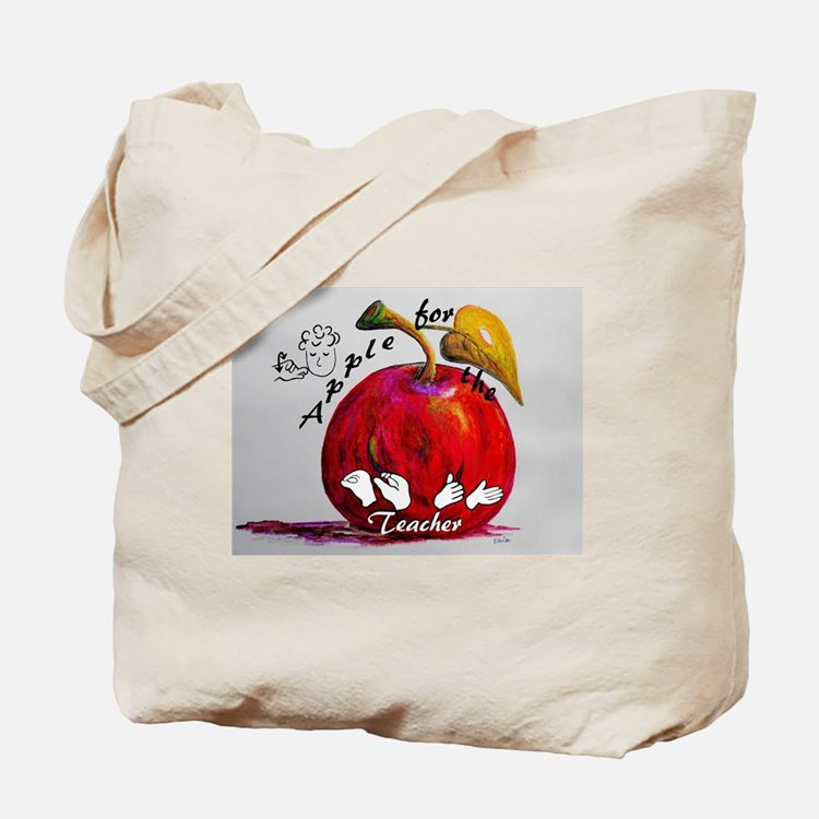 Cute Asl teacher Tote Bag