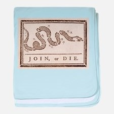 Join or Die - American Revolution - B baby blanket