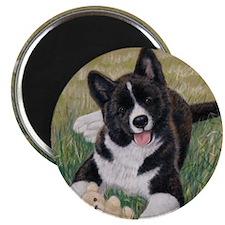 Akita Puppy Magnet