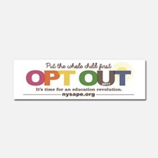 Nysape Opt Out 2017 Car Magnet 10 X 3