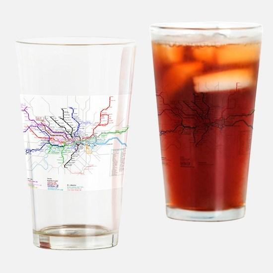 Cute Underground Drinking Glass