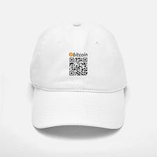 Bitcoin QR Code Baseball Baseball Baseball Cap
