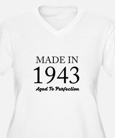 Made In 1943 Plus Size T-Shirt