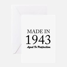 Made In 1943 Greeting Cards