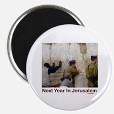 Next Year In Jerusalem Magnet
