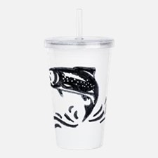 Trout Acrylic Double-wall Tumbler